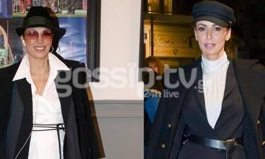 Αδερφές Μαγγίρα: Κι όμως έκαναν ακριβώς την ίδια εμφάνιση - Δες όλο το outfit (photos)