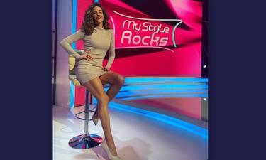My Style Rocks: Το αβυσσαλέο ντεκολτέ της Κατερίνας Στικούδη! (video & photos)