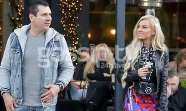 Τζούλια Νόβα: Την «τσακώσαμε» με τον σύντροφό της στη Γλυφάδα!