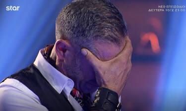 MasterChef: Πήρε ποδιά και ξέσπασε σε κλάματα! Ράγισε καρδιές με την αναφορά στον νεκρό γιο του!