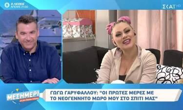Γωγώ Γαρυφάλλου: Οι πρώτες μέρες με την κόρη της στο σπίτι μετά από 20 μέρες στη θερμοκοιτίδα (vid)