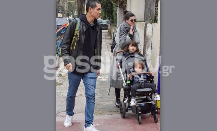 MasterChef: Ο Κοντιζάς άφησε τις κουτάλες και βγήκε βόλτα με την οικογένειά του-H κούκλα γυναίκα του