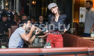 Τανιμανίδης – Μπόμπα: Τους «τσακώσαμε» στο Κολωνάκι – Με ποιον επώνυμο έπιναν καφέ; (Photos)
