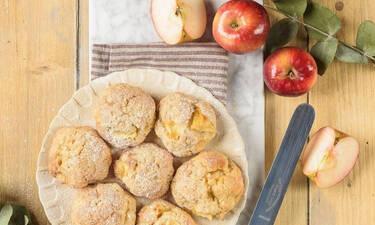 Τριφτά μπισκότα με μήλο: η πιο εύκολη συνταγή για ανεπανάληπτη γεύση