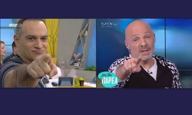 Κρατερός Κατσούλης - Νίκος Μουτσινάς: Με το ίδιο πουκάμισο! Ποιος το φόρεσε καλύτερα; (Photos)