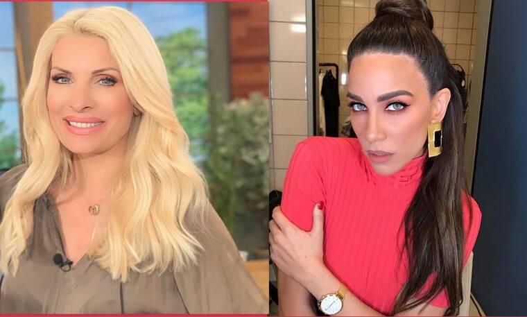 Μενεγάκη – Στικούδη: Φόρεσαν το ίδιο φόρεμα! Σε ποια ταίριαξε περισσότερο; (Photos)