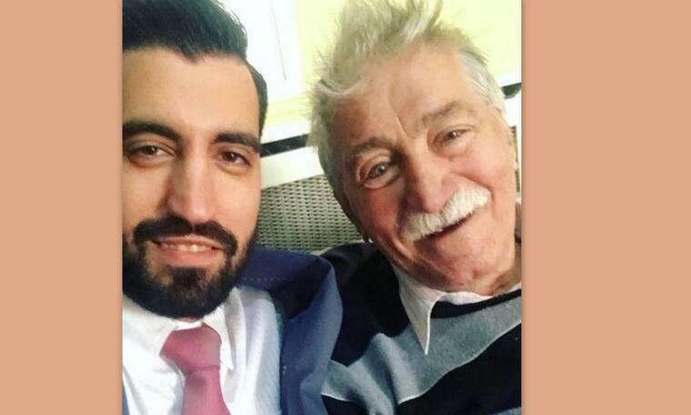 Ανέστης Βλάχος: Το τρυφερό μήνυμα του εγγονού του για τα 86α γενέθλιά του που συγκινεί! (photos)
