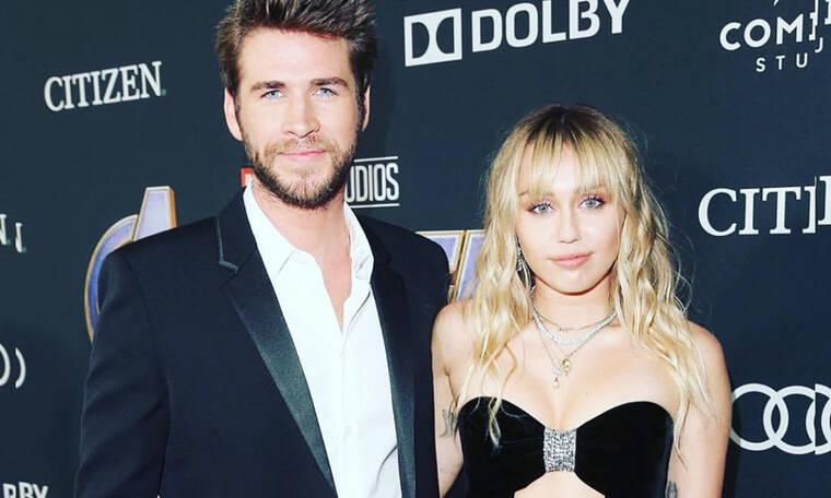 Η Miley Cyrus και ο Liam Hemsworth βρέθηκαν στο ίδιο πάρτι και δεν φαντάζεσαι την αντίδρασή τους