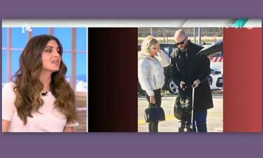 Σταματίνα Τσιμτσιλή: Το σχόλιό της on air  για τον νέο σύντροφο της Φαίης Σκορδά