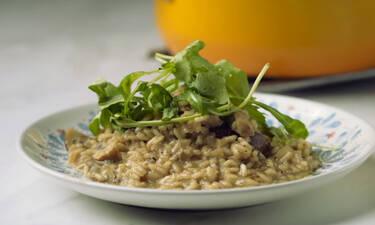 Ριζότο Μανιταριών- Υπέροχη συνταγή από τον Γιώργο Τσούλη