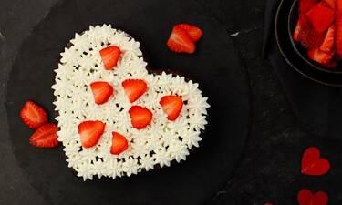 Love cake για τους ερωτευμένους!