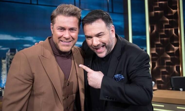 The 2Night Show: Έλλη Τρίγγου και Χρήστος Χολίδης μιλούν για όλα στον Αρναούτογλου (Photos)