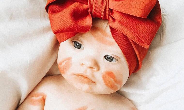 #valentinebabies - Αξιολάτρευτα μωράκια βάζουν τα γιορτινά τους για τον Άγιο Βαλεντίνο (pics)