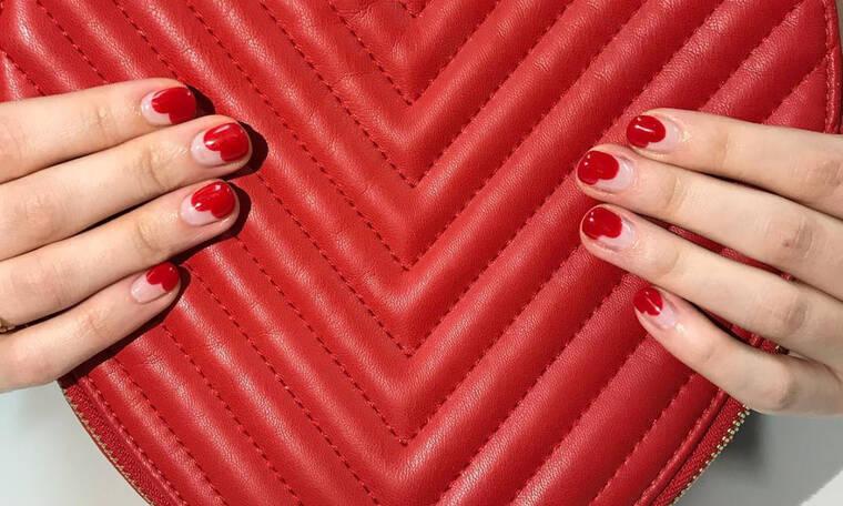 10 ερωτεύσιμα… nail art για την ημέρα του Αγίου Βαλεντίνου