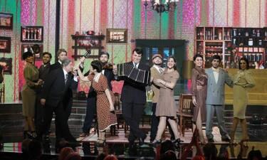 YFSF: Guest έκπληξη στην εμφάνιση του Λιβιεράτου ως Dean Martin (VIDEO-PHOTOS)