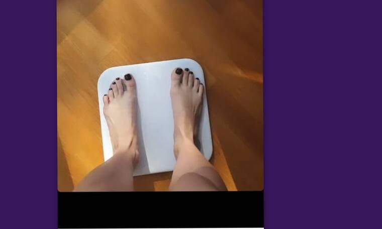 Ελληνίδα παρουσιάστρια 40 μέρες μετά τη γέννα ζυγίστηκε – Δες πόσα κιλά είναι! (Photos)