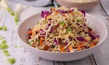 Noodles με λαχανικά που ξετρελαίνουν