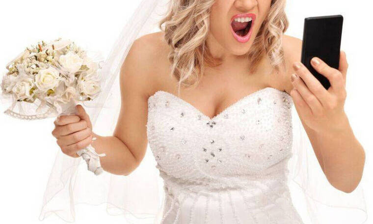 Γάμος... παρωδία: Άγριο ξύλο στο γαμπρό - Η οργή της νύφης