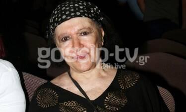 Στο νοσοκομείο η Μάρθα Καραγιάννη - Τι συμβαίνει με την ηθοποιό; (Photos)