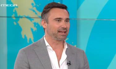 Mega: Ο Γιώργος Καπουτζίδης με διπλό χτύπημα στο κανάλι: «Είναι μια δύσκολη, υπεύθυνη θέση» (video)