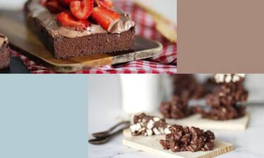 Τρία γλυκά με τρία υλικά που μπορείς να τρως ακόμα κι αν κάνεις δίαιτα
