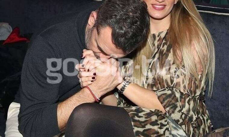 Full in love το ζευγάρι! Οι αγκαλιές και τα τρυφερά φιλιά στα μπουζούκια! (Photos)