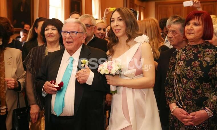 Κώστας Βουτσάς: Ο γάμος με την Αλίκη Κατσαβού και ο γιος στα 80 κάτι του! (Photos)