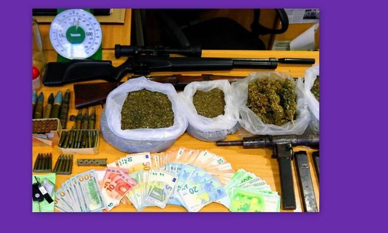 Συνελήφθη πρώην παίκτρια ριάλιτι - Βρέθηκαν όπλα και ναρκωτικά στο σπίτι της (photos-video)
