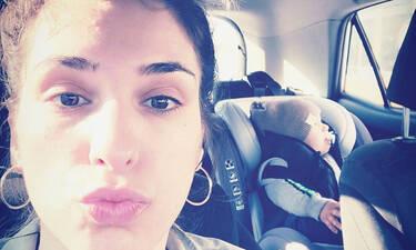 Αντιγόνη Ψυχράμη: Η γλυκιά μαμά σε τρυφερές στιγμές με τον γιο της - Η πιο ωραία φώτο