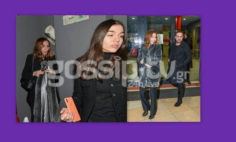 Δέσποινα Βανδή – Ντέμης Νικολαΐδης: Σπάνια έξοδος με την κόρη τους, Μελίνα (Photos)