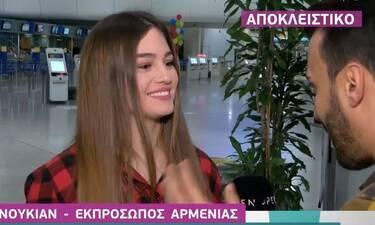 Αθηνά Μανουκιάν: «Έχω παλέψει πολύ για να εκπροσωπήσει την Ελλάδα στη Eurovision» (video+photos)