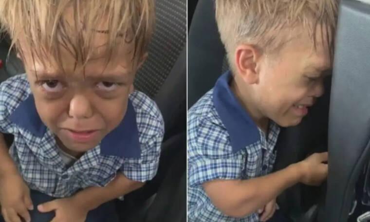 9χρονος που πάσχει από νανισμό θέλει να δώσει τέλος στη ζωή του γιατί δέχεται bullying (vid)