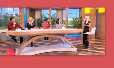 Ελένη Μενεγάκη: Έδειξε on air τα μηνύματά της και… τους λογαριασμούς της (Video & Photos)