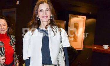 Κατερίνα Λέχου: Λατρεύει το λευκό και μας δείχνει πώς να το φορέσουμε κι εμείς! (Photos)