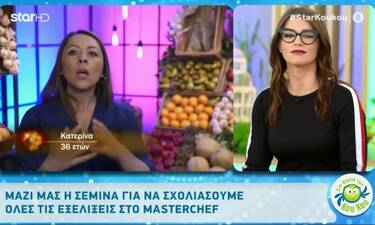 MasterChef: ΗΣεμίνα Κατσίβα σχολιάζει τους παίκτες, τις κόντρες και τις κλίκες στο reality (video)