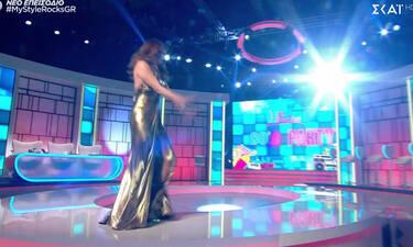 My Style Rocks Gala:Μας άφησε με το στόμα ανοιχτό η Στικούδη!Το αποκαλυπτικό ντεκολτέ άναψε «φωτιές»