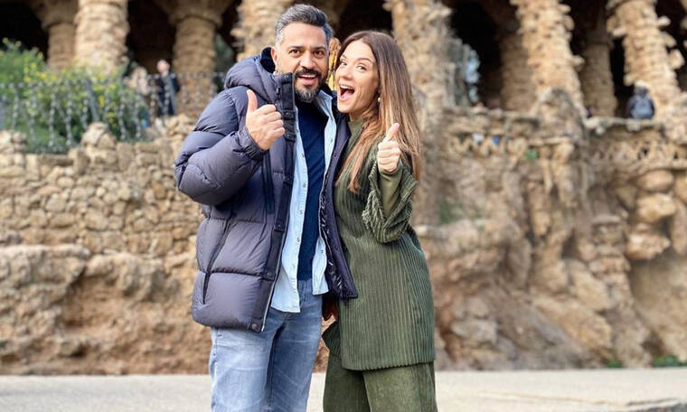 Λασκαράκη - Οικονομάκου σε κοινές διακοπές με τους συζύγους τους και τα βίντεο ρίχνουν το Instagram