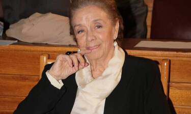 Τζένη Ρουσσέα: Δύσκολες ώρες για την μεγάλη κυρία του κινηματογράφου - Βυθίστηκε στο πένθος (Photos)