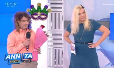 Αννίτα Κοίτα: Η Πάνια κάνει «My style rocks» για άνδρες - Δείτε το και κλάψτε από τα γέλια!