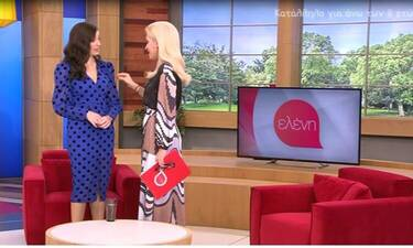 Ελένη Μενεγάκη: Άφωνη η Έμιλυ Κολιανδρή με την ατάκα on air για τον σύζυγό της, Χρήστο Λούλη