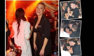 Ιωάννα Τούνη: Διασκέδασε στο ίδιο μαγαζί με τον πρώην της ο οποίος... συνοδευόταν! (photos)