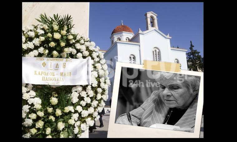 Κηδεία Κικής Δημουλά: Το τελευταίο «αντίο» στη σπουδαία ποιήτρια! (photos)