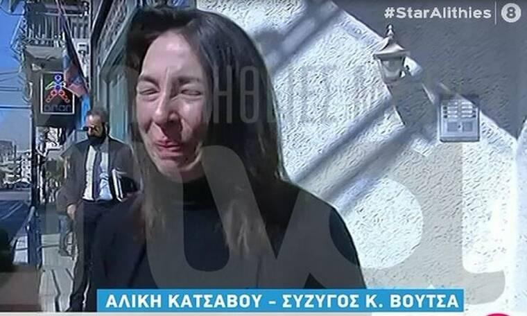 Κώστας Βουτσάς: Ράκος η Αλίκη Κατσαβού - Δεν άντεξε και λύγισε on camera (Video & Photos)