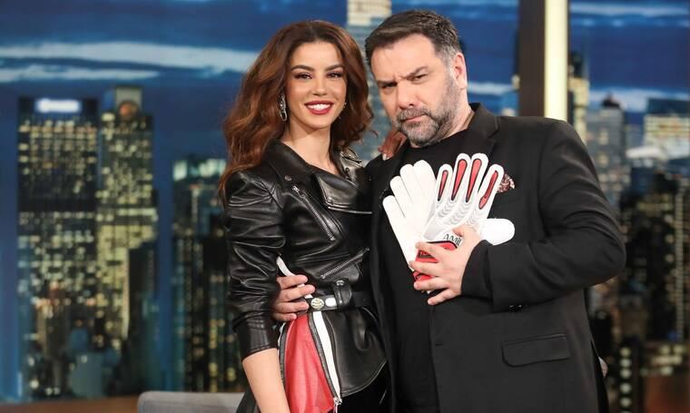 The 2Night Show: Λαμπεροί καλεσμένοι μιλούν για όλα στον Γρηγόρη Αρναούτογλου (Photos)