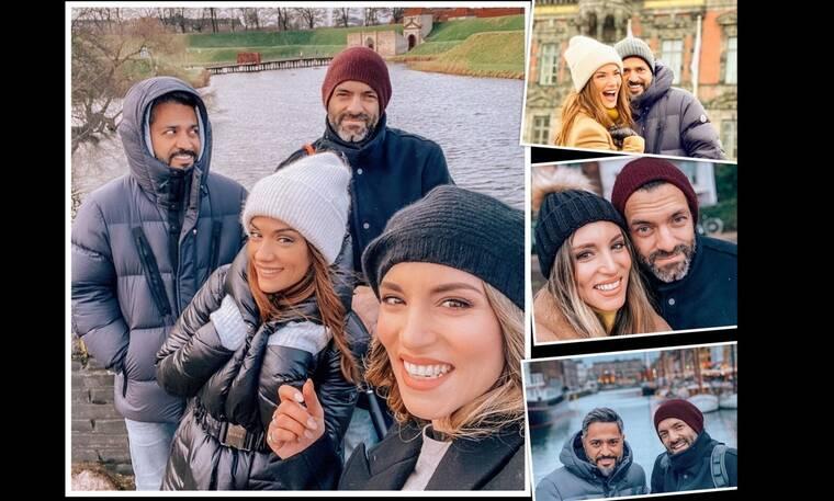 Λασκαράκη-Σουλτάτος, Οικονομάκου-Μιχόπουλος: Δεν τους τρομάζει ο Κοροναϊός! Ταξιδάκι στην Κοπεγχάγη