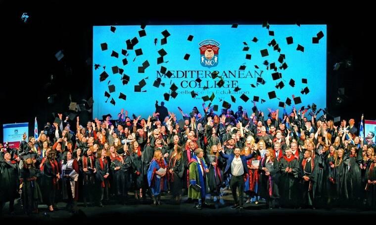 Mediterranean College 40η Τελετή Αποφοίτησης Οι απόφοιτοί μας είναι η ζωντανή απόδειξη της επιτυχίας
