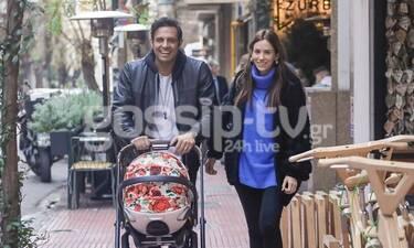 Η οικογένεια Πούμπουρα πήρε τους δρόμους - Η βόλτα και η τυχαία συνάντηση με τον Αργυρό! (Photos)