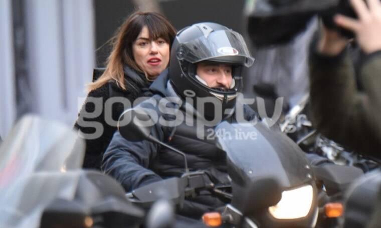 Ο easy rider Βασίλης Χαραλαμπόμπουλος και η βόλτα με τη γυναίκα της ζωής του! (Photos)