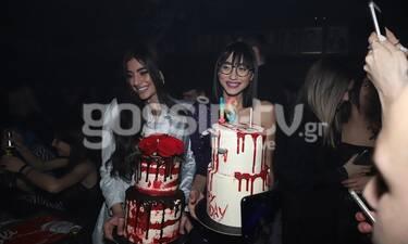 GNTM: Σπυρούλα Καίζερ - Ελευθερία Καρναβά: Γιόρτασαν μαζί τα γενέθλιά τους! Ήταν όλες εκεί! (Photos)