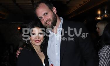 Σπάνια βραδινή έξοδος για τη Μαρίνα Ασλάνογλου και τον σύζυγό της (Exclusive Photos)